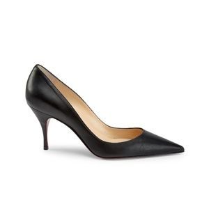 Christian Louboutin clare leather pumps